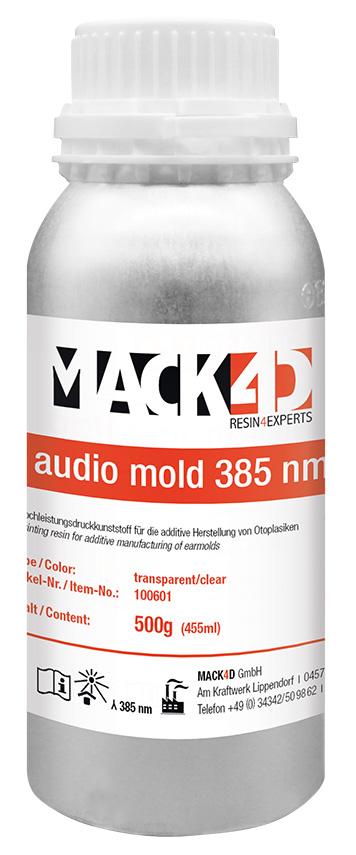MACK4D - audio mold 385 nm